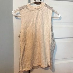 Madewell colorblock top
